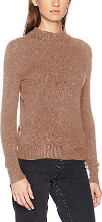 Pieces Womens Pcjane Ls Wool Knit Noos Jumper, Brown (Ginger Snap), 36 (Size: Small)