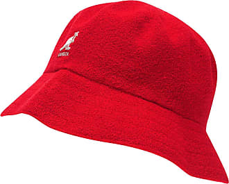 Kangol Mens Boucle Bucket Hat Red1 L-XL
