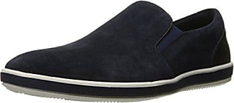 Kenneth Cole Reaction Mens Stroll Along Slip-On Loafer, Midnight NVY, 11 M US