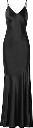 Rachel Zoe Kos Satin Gown - Black