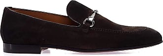 Doucal's Fashion Man DU1939CAPRUF06801 Brown Suede Loafers | Spring Summer 20