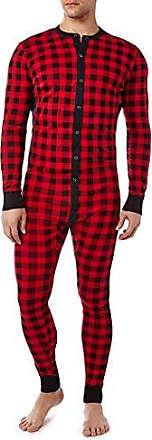 IST Mens Essential Cotton Long Underwear Union Suit Onesie Underwear Underwear X 2