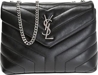 Saint Laurent Loulou Shoulder Bag Womens Black