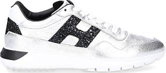 Hogan Damen Sneaker low Glattleder Glitter Lackleder