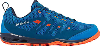 Columbia Mens Vapor Vent Walking Shoe, Blue (Pool, Red Quartz 421), 10.5 (44.5 EU)