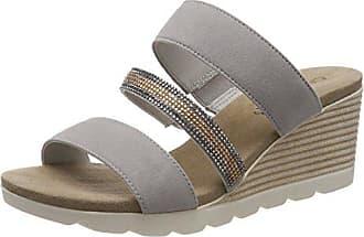 Grey Suede FemmeGrisLt EU 20140 Caprice 27207Mules bvmIfYgy76