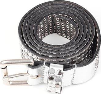HTC Cintura in Pelle Effetto Vintage con Borchie 35mm taglia 105