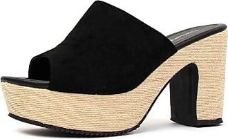 Damannu Shoes Tamanco Saint Preto - Cor: Preto - Tamanho: 35