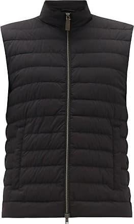 Herno Quilted-down Gilet - Mens - Black