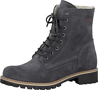 S.Oliver® Leather Boots − Sale: at £37.88+ | Stylight