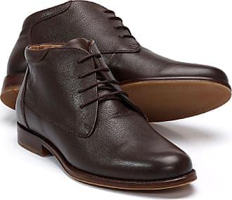 Walbusch Herren Stiefel Budapester, einfarbig Braun Gr. 39