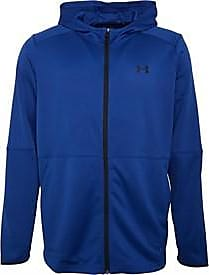 Under Armour loose fit full zip warm-up hoody. Features Lightweight double-knit fabric which is breathable and stretches for superior mobility. 1345259-449