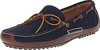 Polo Ralph Lauren Mens Wyndings Leather, Tan/Newport Navy, 10.5 D US