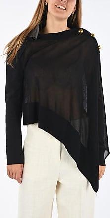 sacai Nylon and Cotton Asymmetric Sweater Größe 1
