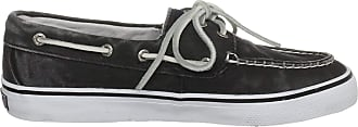 Sperry Top-Sider Womens Bahama 2-Eye Washed Black Casual Lace Ups 9447145 5.5 UK, 39 EU, 8 Us