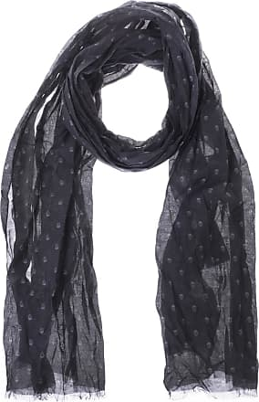 John Varvatos Scull Printed Scarf Mens Navy Blue