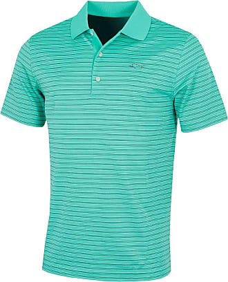 Greg Norman Womens Ml75 Microlux Stripe Short Sleeve Polo
