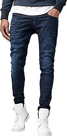 G-Star Mens Revend Slim Fit Pant in Slander Indigo Super Stretch, Dk Aged, 3032