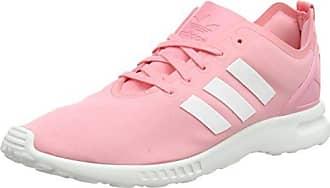 brand new 49a92 5edca adidas Originals ZX Flux Smooth, Damen Sneakers, Pink (Super Pop F15 Core