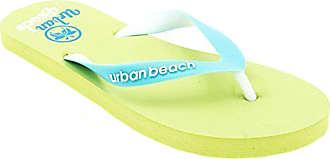 Urban Beach Ladies Womens Corp Casual Rubber Flip Flops/Sandals (UK 4 / EUR 37, Green)