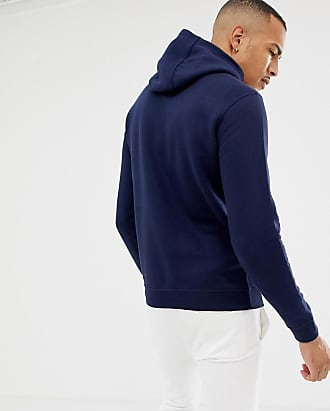 9b78491057ba Nike Tall Pullover Hoodie With Swoosh Logo In Navy 804346-451 - Navy