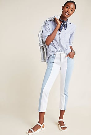 Levi's 501 High-Rise Colorblocked Skinny Jeans