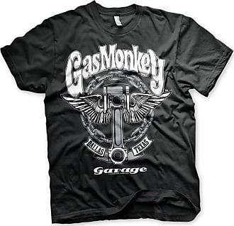 Gas Monkey Garage Officially Licensed Big Piston Big & Tall 3XL,4XL,5XL Mens T-Shirt (Black), 5X-Large