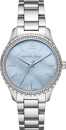 Michael Kors Layton Watch Jetset Silver