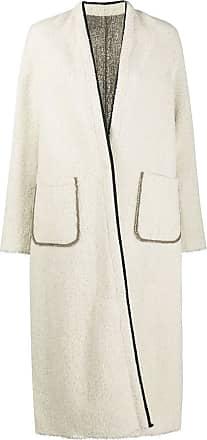 Forte_Forte reversible open front coat - Neutrals
