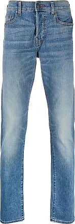 True Religion Calça jeans reta - Azul