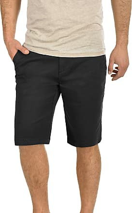 Solid Lamego Mens Chino Shorts, size:L;colour:Black (9000)