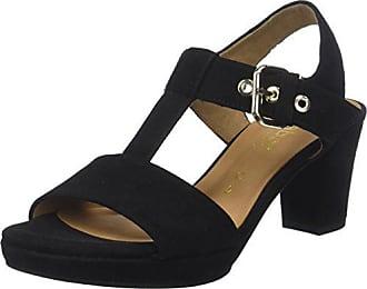 5 EU SC FemmeNoirSchwarz Gold38 Cheville Comfort Bride Gabor FashionSandales kwPTZuOXi