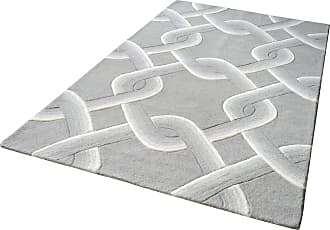 Dimond Home Desna Handtufted Wool Rug In Grey - 5ft x 8ft