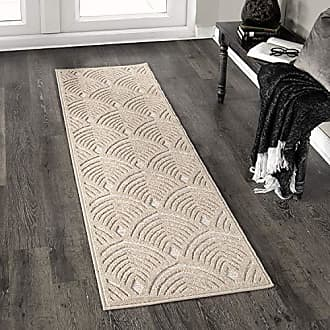 Orian Rugs Boucle Bella Vista Driftwood Runner Rug, 111 x 76, Tan