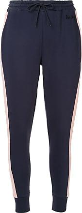 être cécile contrast stripe track pants - Blue