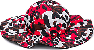Marni camouflage-print hat - Red