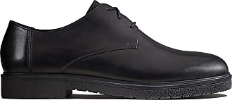 Clarks Ashcroft Plain Leather Shoes in Black Standard Fit Size 6.5