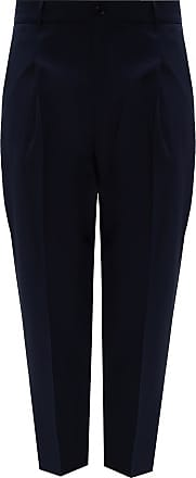 Zadig & Voltaire Pleat-front Trousers Mens Navy Blue