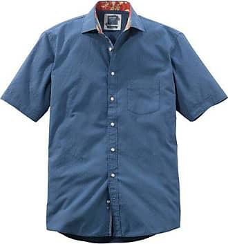 Olymp Casual Hemd, modern fit, Kent, Marine, XL