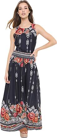 Dress To Vestido Dress to Longo Festejar Azul-Marinho