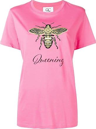 Quantum Courage Camiseta Queening - Rosa