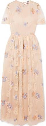 Paul & Joe Embellished Tulle Maxi Dress - Neutral