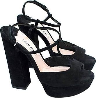49e0811281b2 Miu Miu® Platform Heel Sandals − Sale  up to −58%