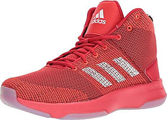 sale retailer 258c9 1e49b adidas NEO Mens CF Executor Mid Basketball-Shoes, SCARLET WHITE CORE RED