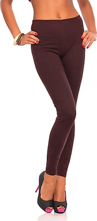 FUTURO FASHION Womens High Waisted Winter Full Length Cotton Leggings Soft Fleece Lined, Plus Sizes Coral Size 18