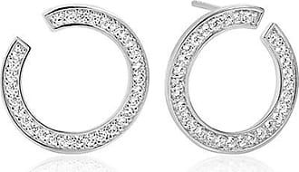 Sif Jakobs Jewellery Ohrringe Valiano Circolo mit weißen Zirkonia