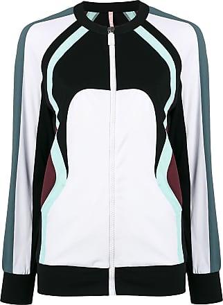 No Ka'Oi colour block zip jacket - White
