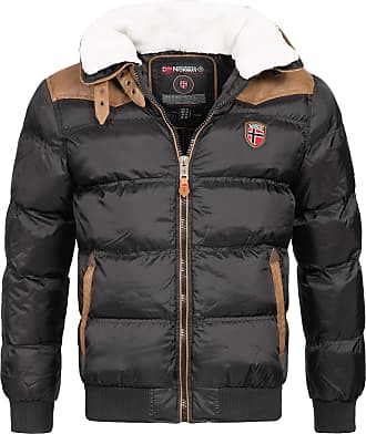 Geographical Norway Emei Mens Winter Jacket Quilted Jacket - Black, S