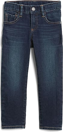 GAP Calça Jeans GAP Infantil Slim Fantastiflex Estonada Azul
