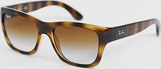 Ray-Ban Ray Ban - Wayfarer-Sonnenbrille in Schildpatt-Optik mit Ombré-Gläsern-Braun